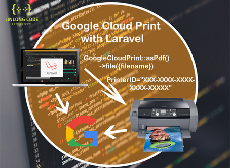 GoogleCloudPrint with Laravel