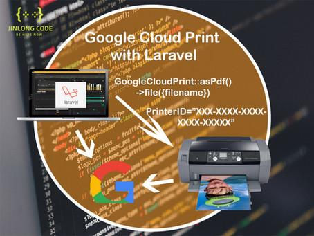 GoogleCloudPrint with Laravel