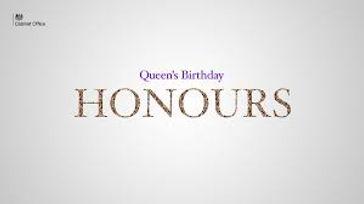 Queen's Birthday Honours List - 2021 06