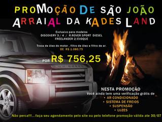 Kades Land oficina Land Rover do Itanhangá posta sua campanha julina!