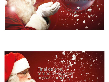 Ja é Natal....