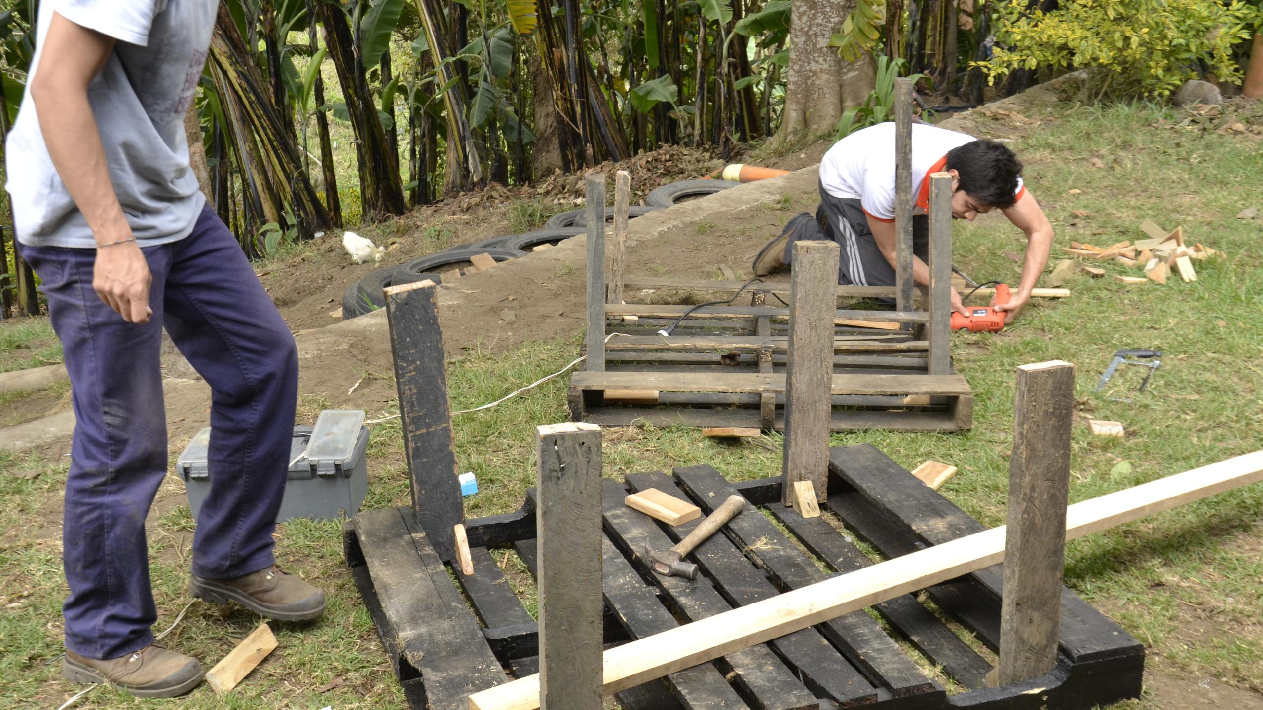 Construcción escenario