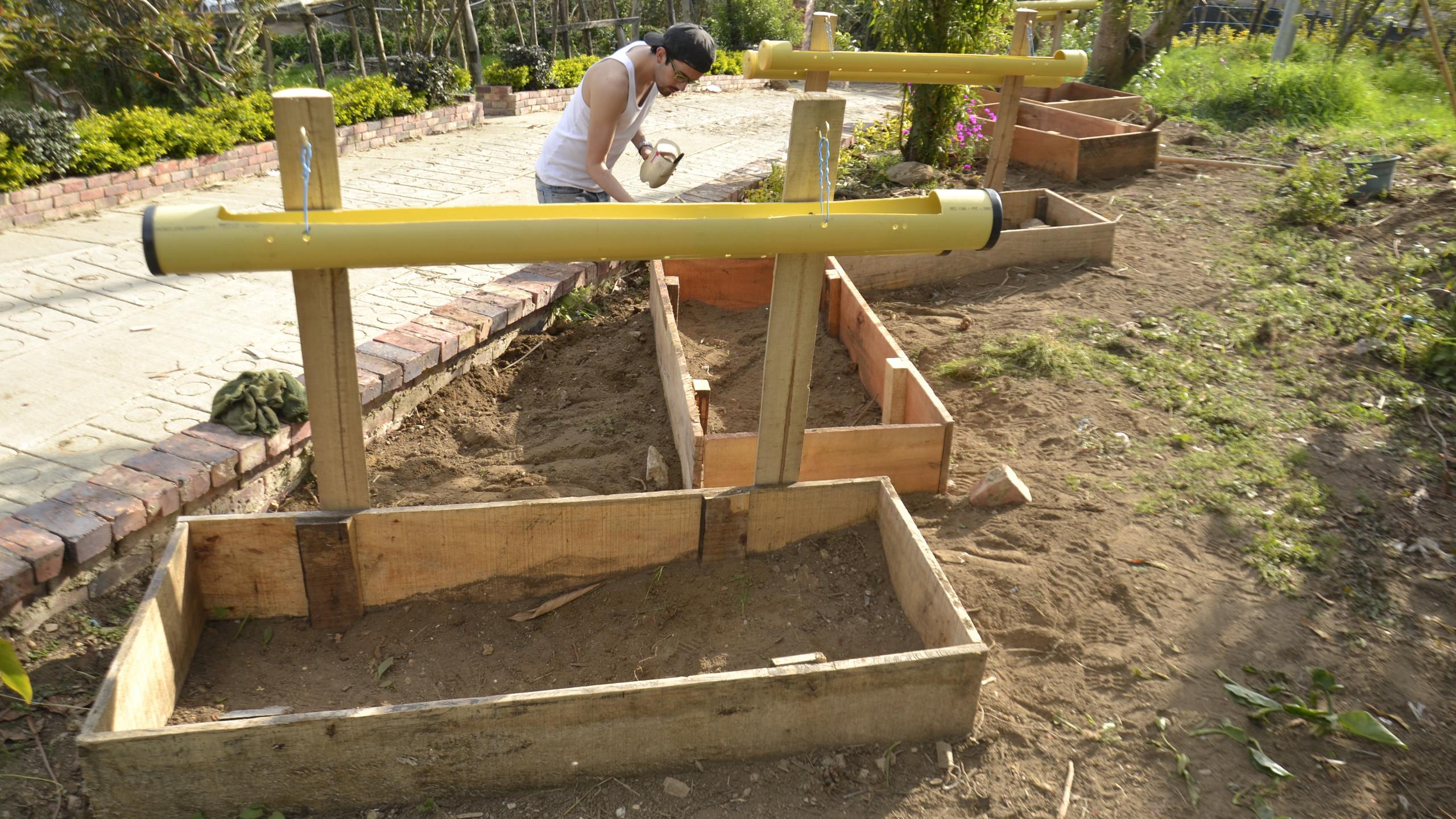 Construcción huertas