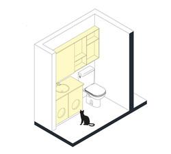 esquemas_baño_Apartamento_Zamudio_despue