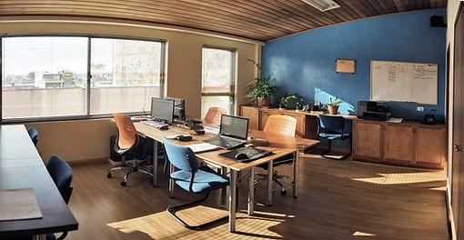 Oficinas de Ensamble AI Estudi de arqutectura Bogotá