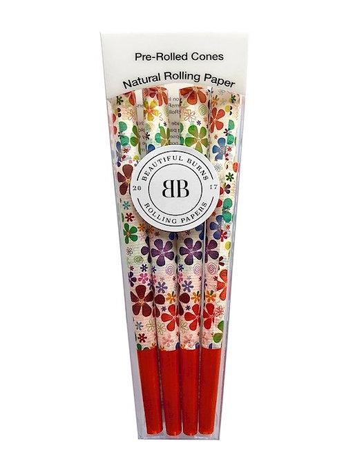 Conos prerolados Flower Power