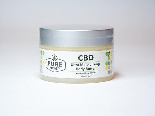 Pure Hemp Body Butter ultra hidratante con CBD
