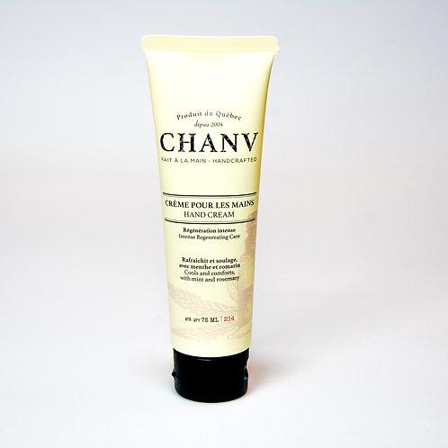 Chanv Crema de manos y pies con aceite de semilla de cáñamo