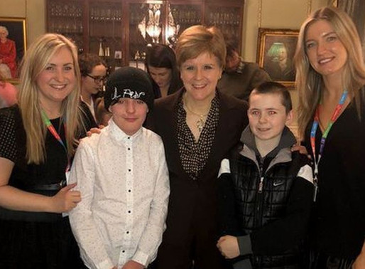 Mentoring service youngsters invited to meet First Minister Nicola Sturgeon