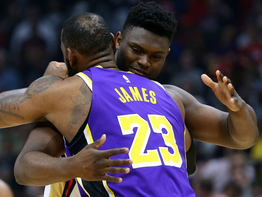LeBron James says mentoring Zion Williamson is his responsibility