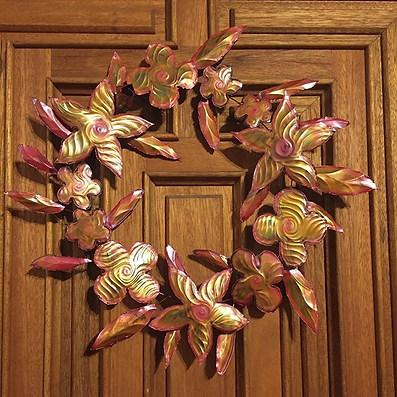 #copperwreath #foreverflowers #mirandaca