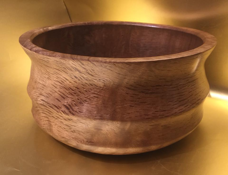 Tan Oak Burl Bowl