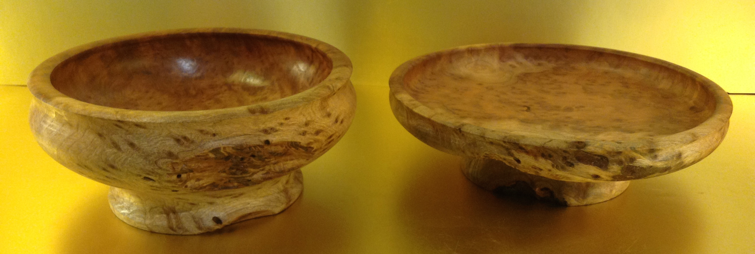 Redwood Burl Set