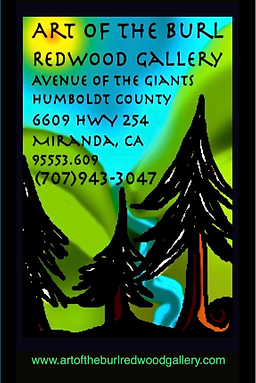 LOGO Art of the Burl Redwood Gallery