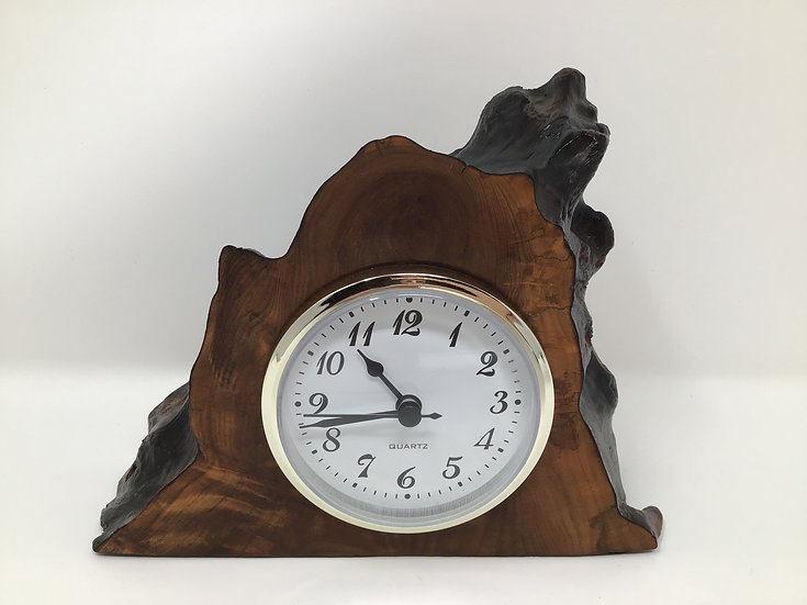 Redwood Mantle Clock 5