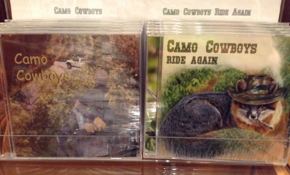 Camo Cowboys CD's