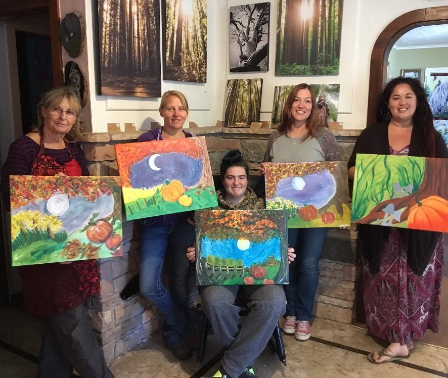 Paint Cafe with Laura Sweet