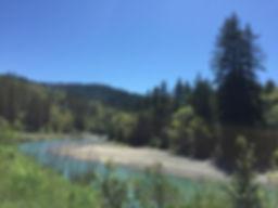 The Eel River, Miranda CA