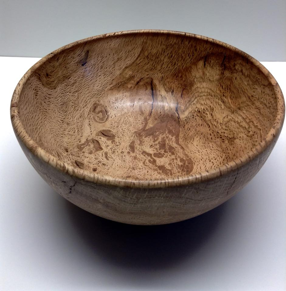 Black Oak Burl Bowl