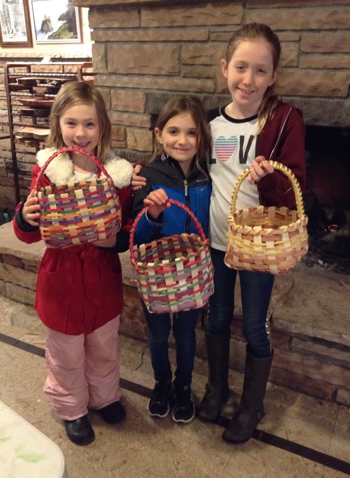 Basket Weaving with Youth