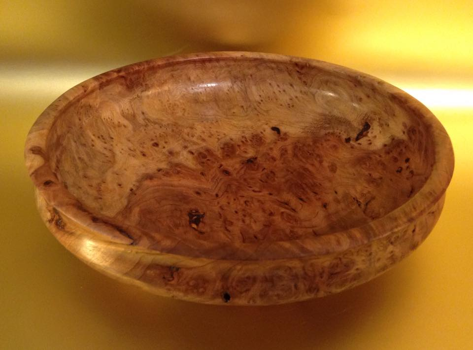 Redwood Burl Bowl