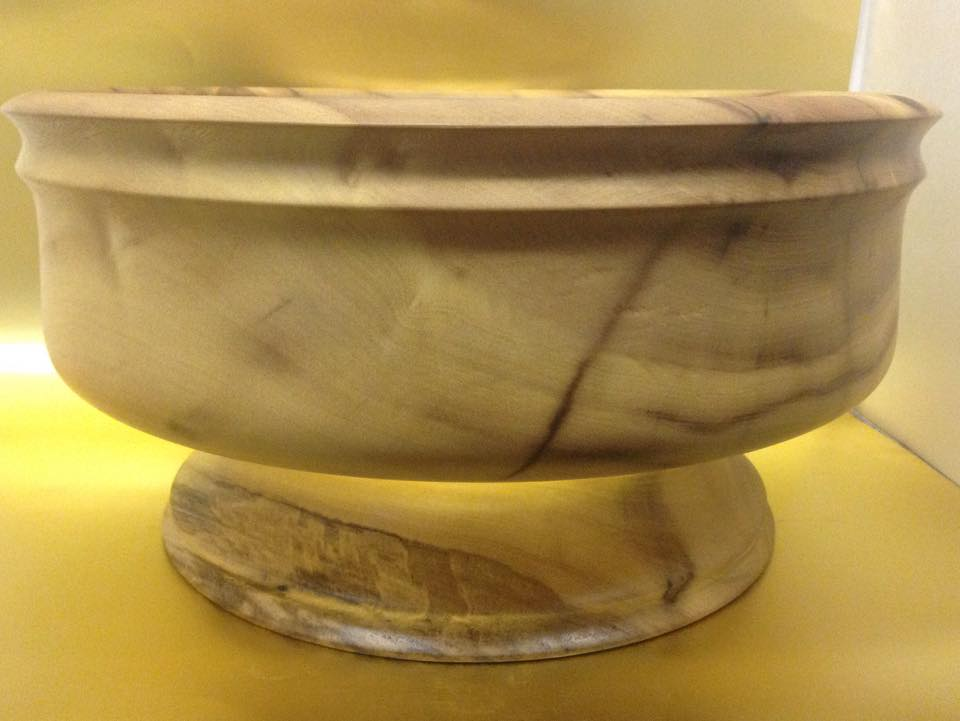 Pepperwood Pedestal Bowl