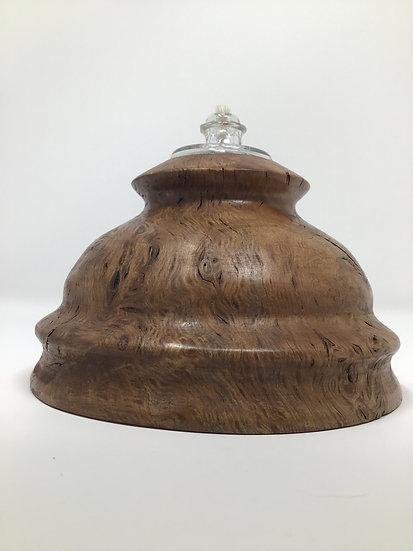 Tan Oak Burl Tea Light