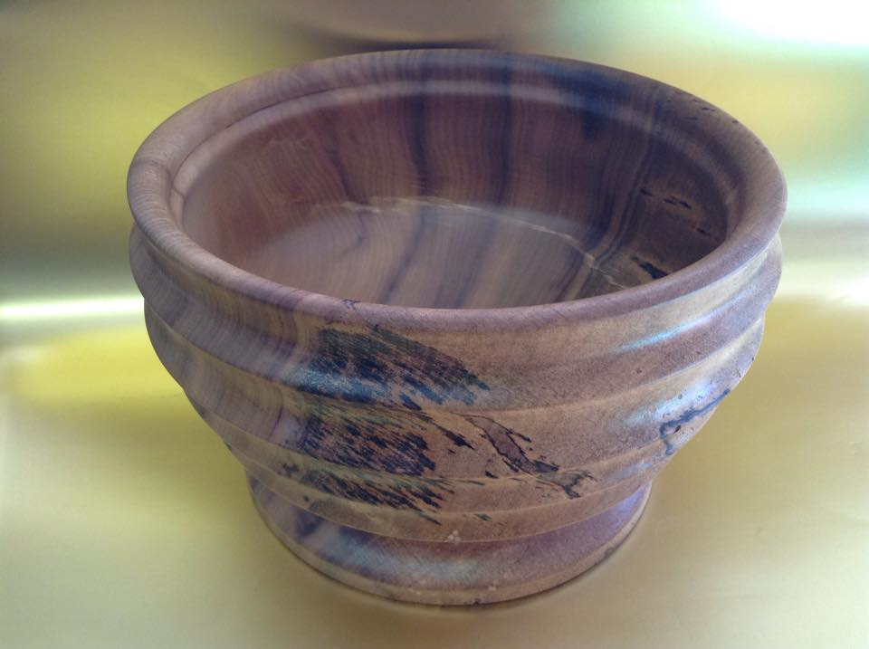 Bay/Pepperwood Salad Bowl
