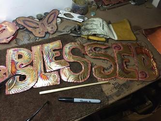 #howIfeel #blessed #copperart #metalmake