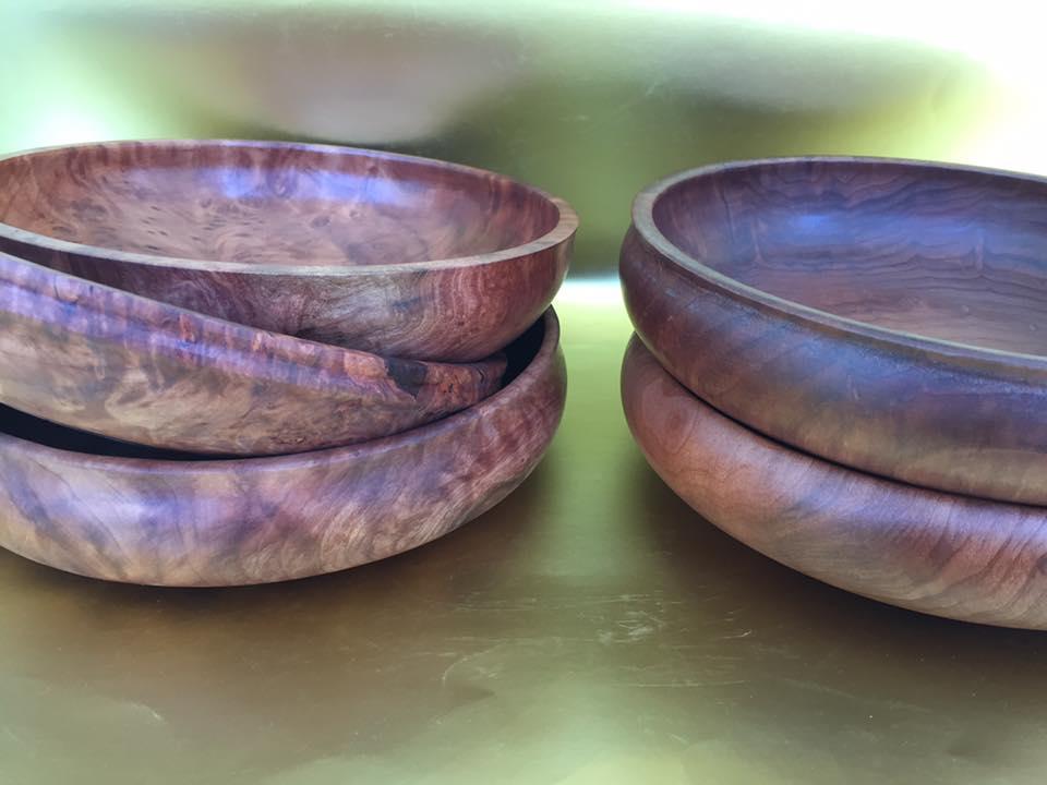 Redwood Burl Bowls