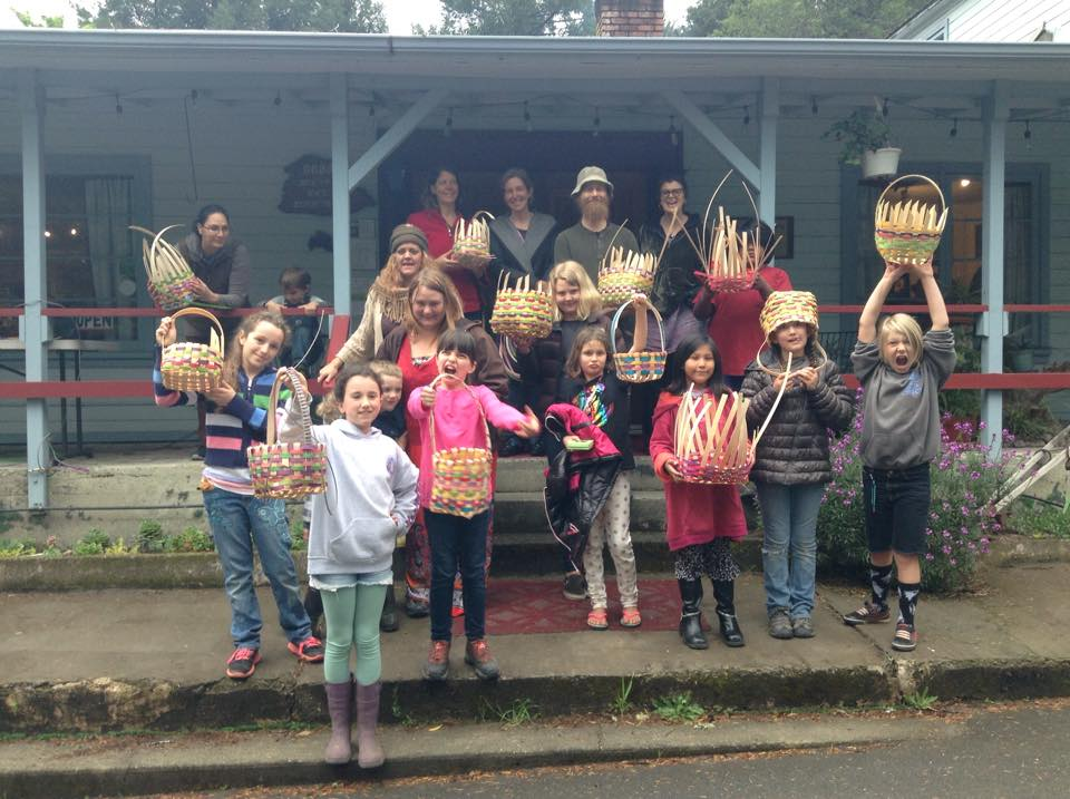 Homeschool Basket Weaving Workshop