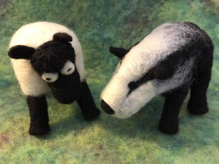 Sheep and Badger