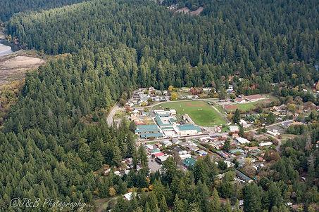 Miranda California from the air