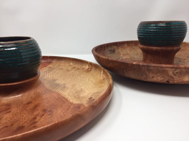 Redwood Serving Platters