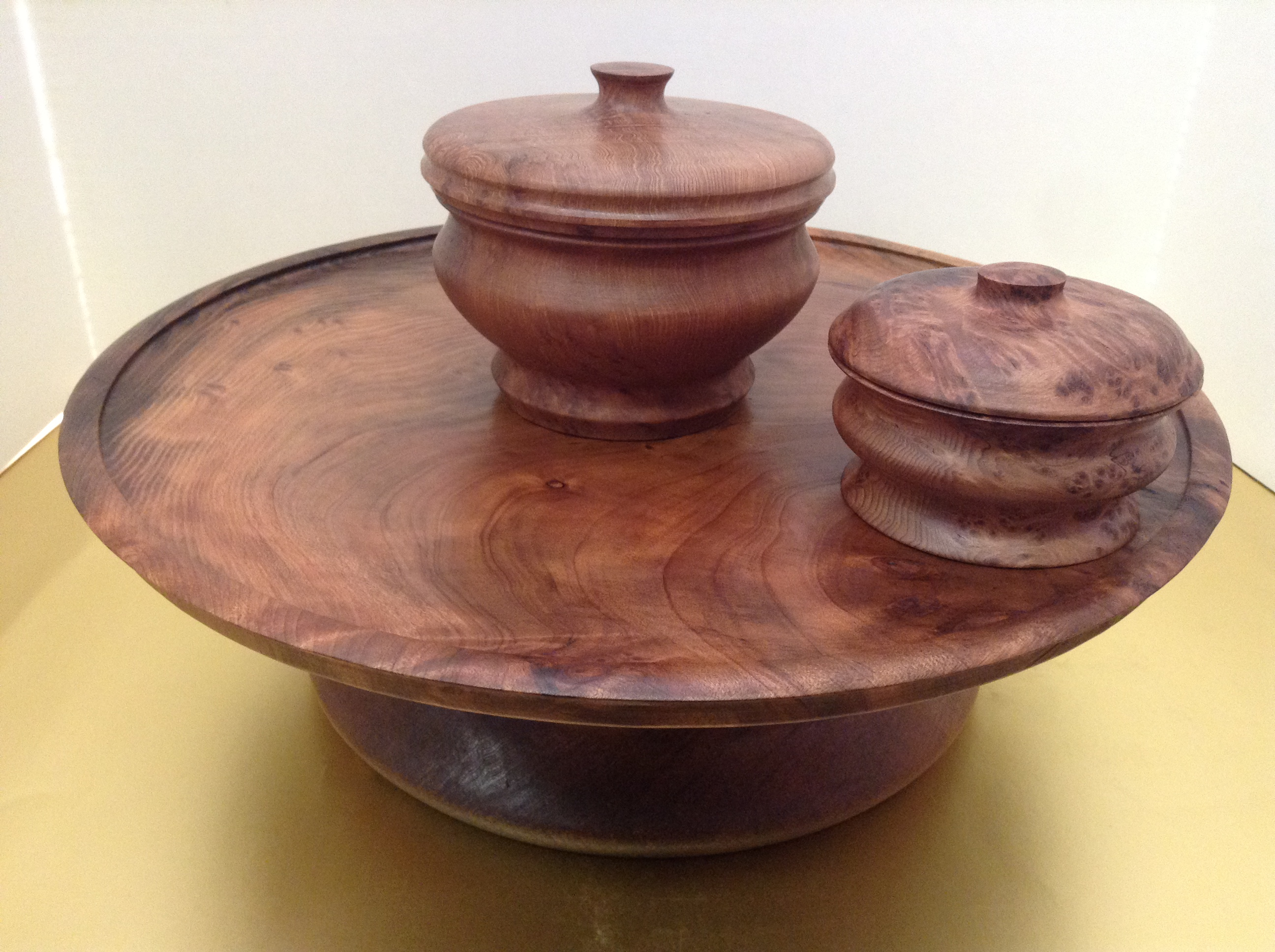Redwood Lazy Susan