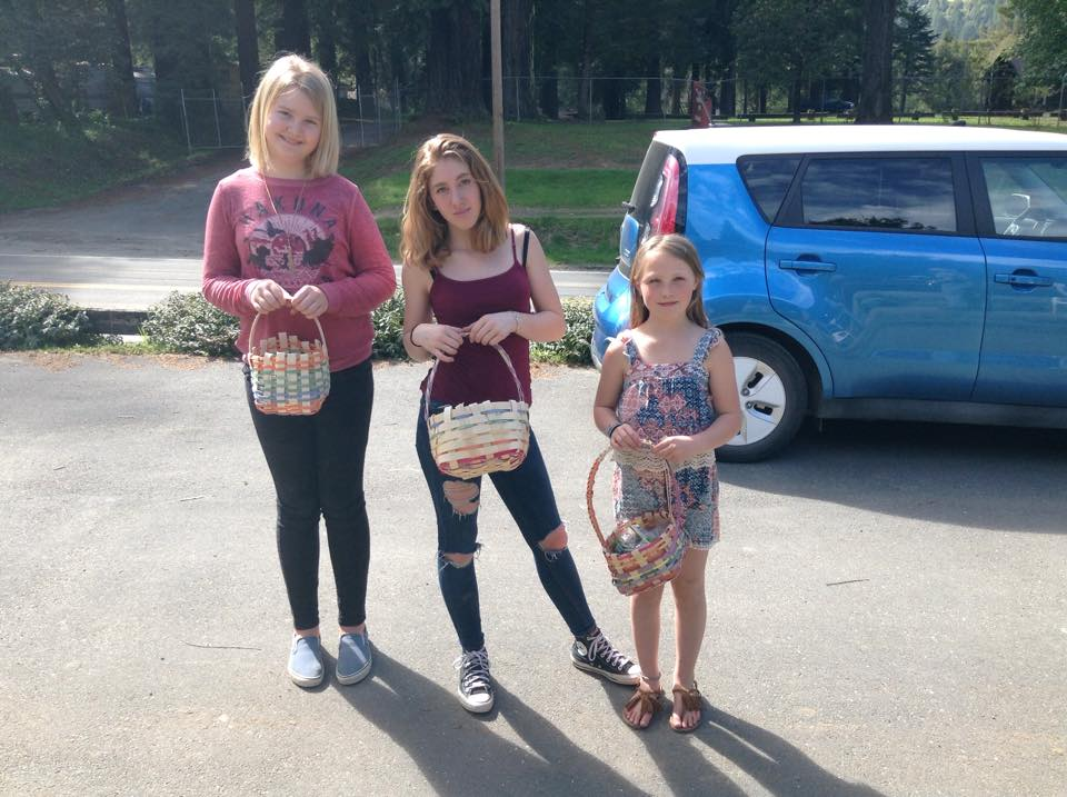 Spring Baskets with Youth