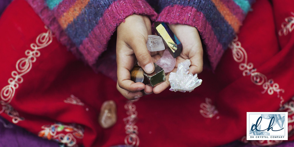 Crystals for Kids at Tranquility Salt Cave