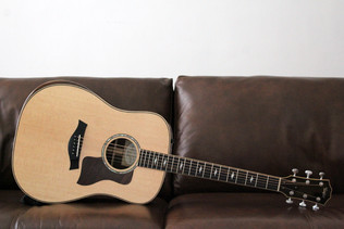 TAYLOR 810E DELUXE SITKA SPRUCE INDIAN ROSEWOOD