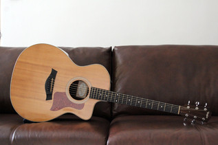 TAYLOR 214CE DELUXE SITKA SPRUCE INDIAN ROSEWOOD (SOLD)
