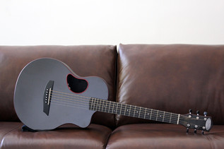 MCPHERSON CARBON FIBER TOURING GUITAR IN RED