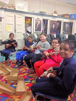 Music, art & P.E. for all students.