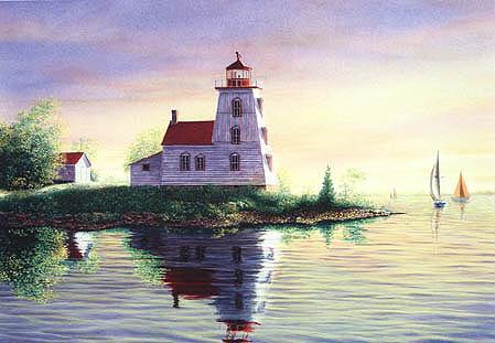 Strawberry Island Lighthouse