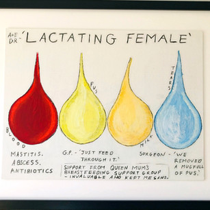 Lactating Female by Tina Cairns