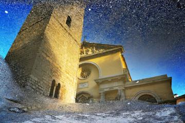 Duomo -Facciata e campanile del Duomo