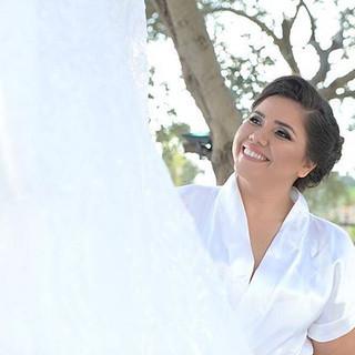 Admirando o vestido de noiva.jpg