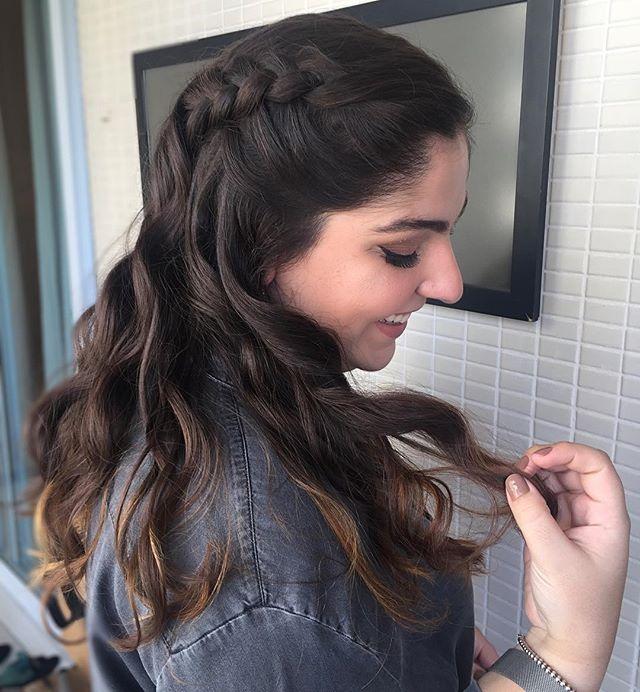 hair para o _makeyouapp #penteadostissi