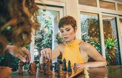 O xadrez é como a vida, precisamos pensar antes de agir
