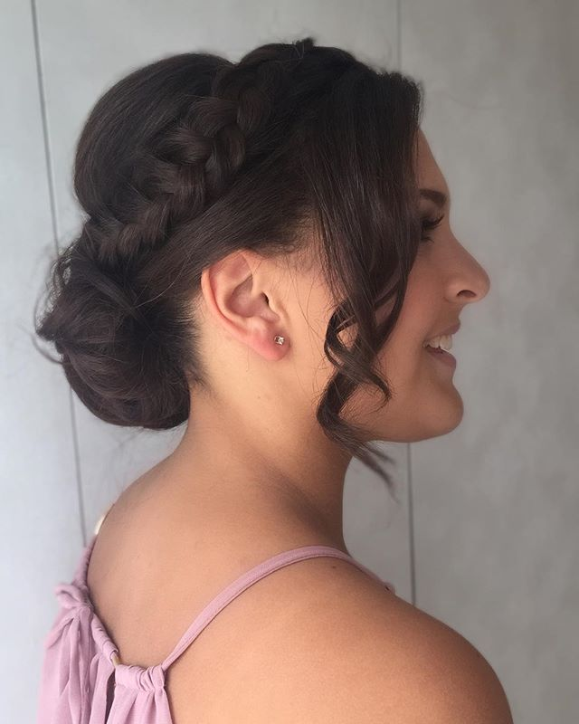 Irmã da noiva e Demoiselle 🌸_._._._Make_ _roberttachapim_Hair_ _tissibalboamakeup_Foto by me _ loca