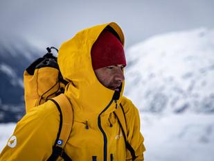 Deux jours de ski de rando a chamonix avec Lagoped