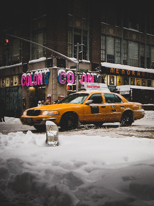 NewYork Streets - Yellowcab